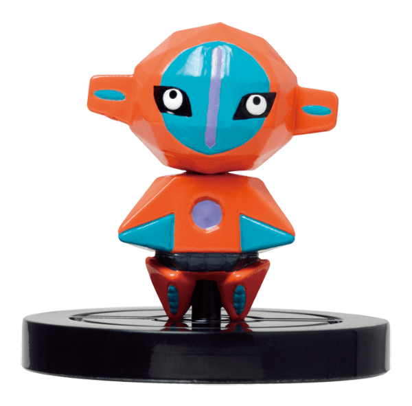 Pokémon Rumble U's Deoxys NFC figure.
