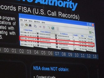 FISA business records screen