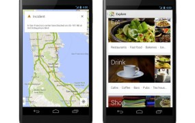 The new Google Maps app on Android