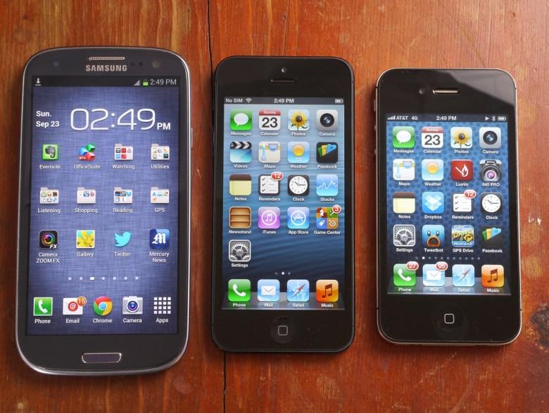 iphone samsung apple galaxy