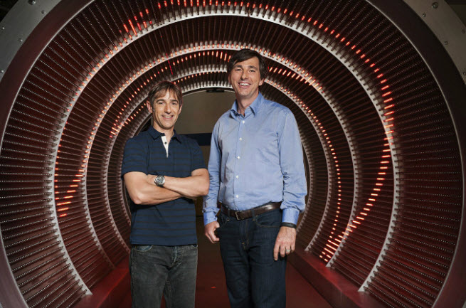 Mark Pincus and Don Mattrick