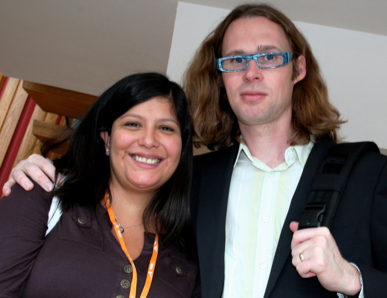 Bebo cofounders Xochi and Michael Birch.
