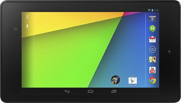 Google's new Nexus 7 Android tablet.