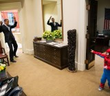 President Obama gets webbed by Spider-Man