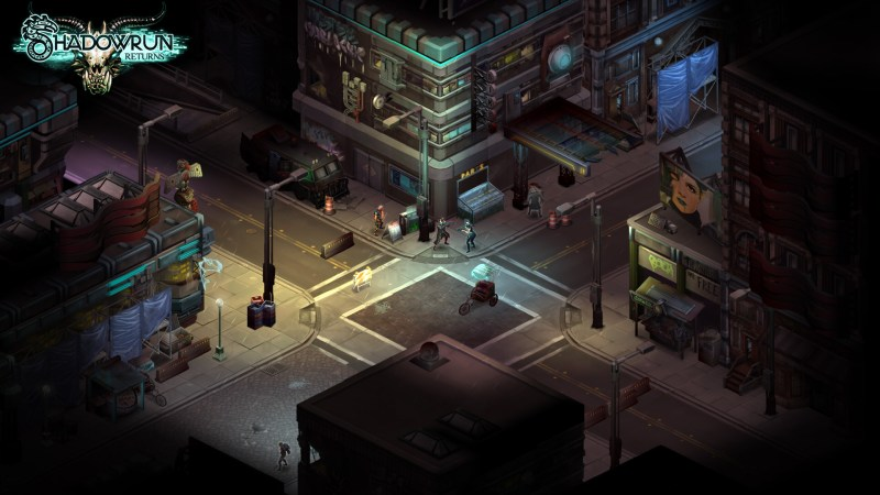 Shadowrun Returns is beautifully detailed even though the world feels a bit small.