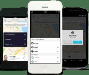 split fare uber