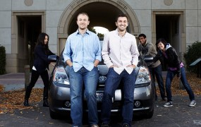 Zimride cofounders Logan Green and John Zimmer (L-R)