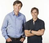 Don Mattrick (left) and Mark Pincus of Zynga.