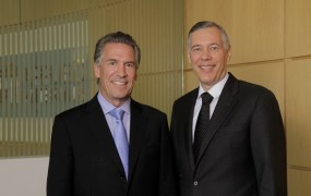 Mike Splinter and Gary Dickerson of Applied Materials