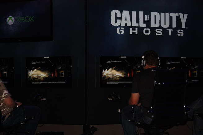 Call of Duty: Ghosts hands-on.