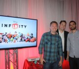 Scott Humphries, John Vignocci, a Dan Lehrich of Disney Infinity team.