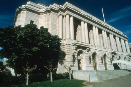 The exterior of the San Francisco Opera, the second largest in the country