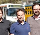 Zendesk founders Morten Primdahl, Alexander Aghassipour, Mikkel Svane (L-R)
