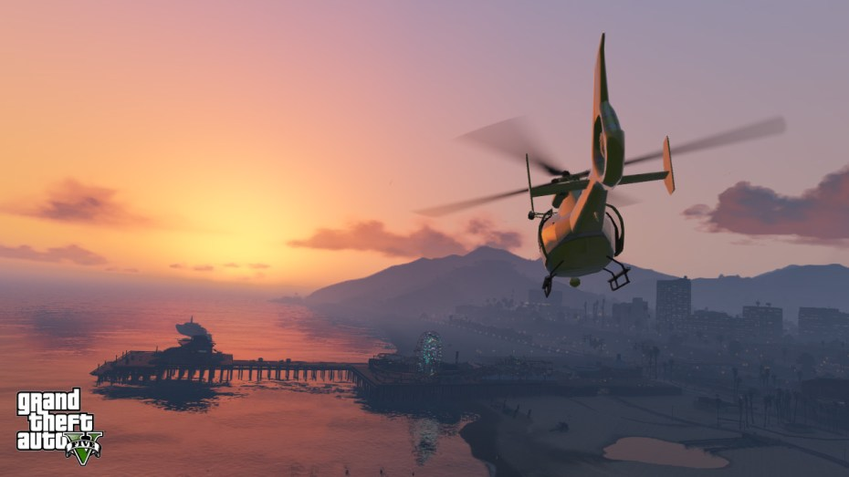 Grand Theft Auto V is Take Two's tentpole title -- and has already sold more than $800 million's worth of games.