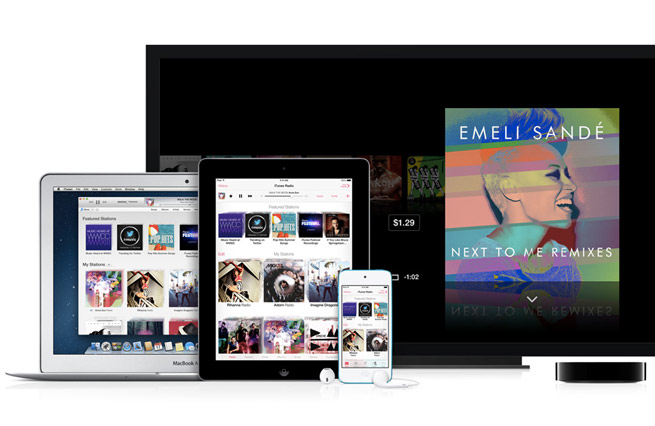Apple's iTunes Radio across many devices