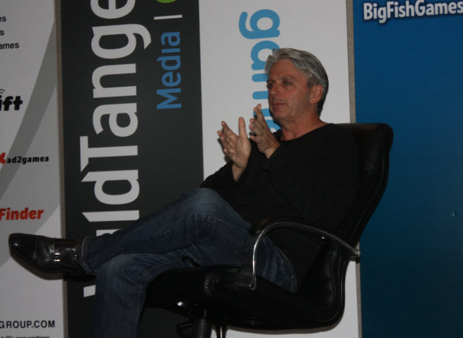 John Riccitiello, active game investor and former CEO of Electronic Arts