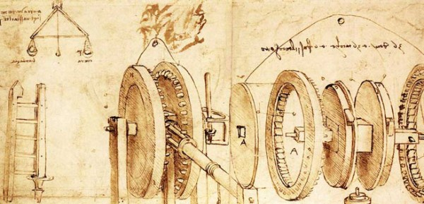 Da Vinci blueprints