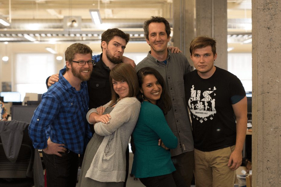 The Lumosity mobile team that relaunched the already successful app.