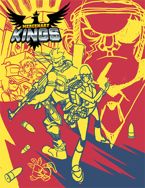 Mercenary Kings Codex Variant Cover