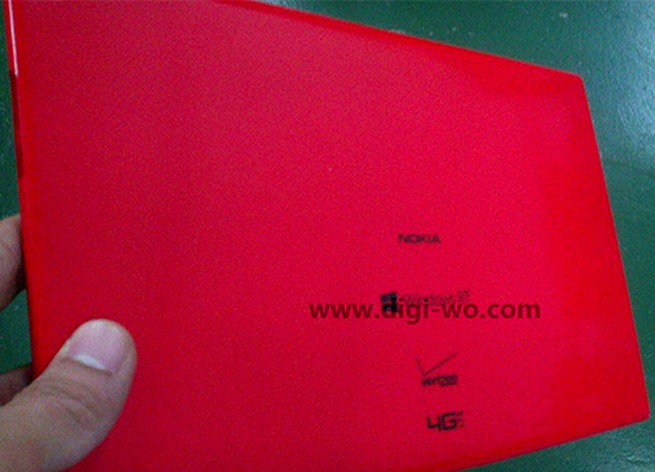Alleged photo of the new Nokia Windows RT tablet