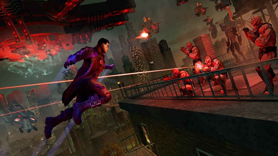 Saints Row IV in action.