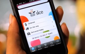 Slice's app for iPhone