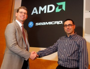 Andrew Feldman and Rory Read of AMD