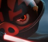 Darth Maul has never looked more intimidating.