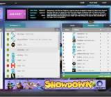 Beyond Gaming's web interface for competitive Rayman Legends.
