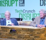 Tom Perkins and Don Valentine at TechCrunch Disrupt. Editors note: They were not actually in a hot tub.
