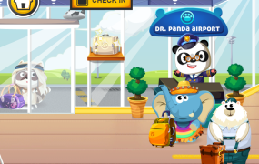 Dr. Panda's Airport from developer TribePlay teaches children about traveling by air.
