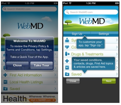 Example: WebMD