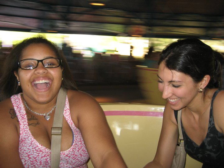Ashana and Felicia on a trip to Disney World.