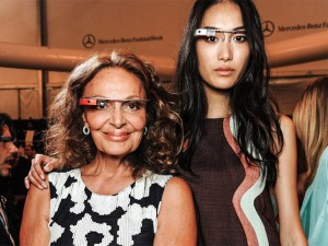 Models wore Google Glass at New York Fashion Week