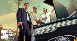 GTA V main characters