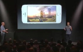 infinity blade 3 apple unveiling