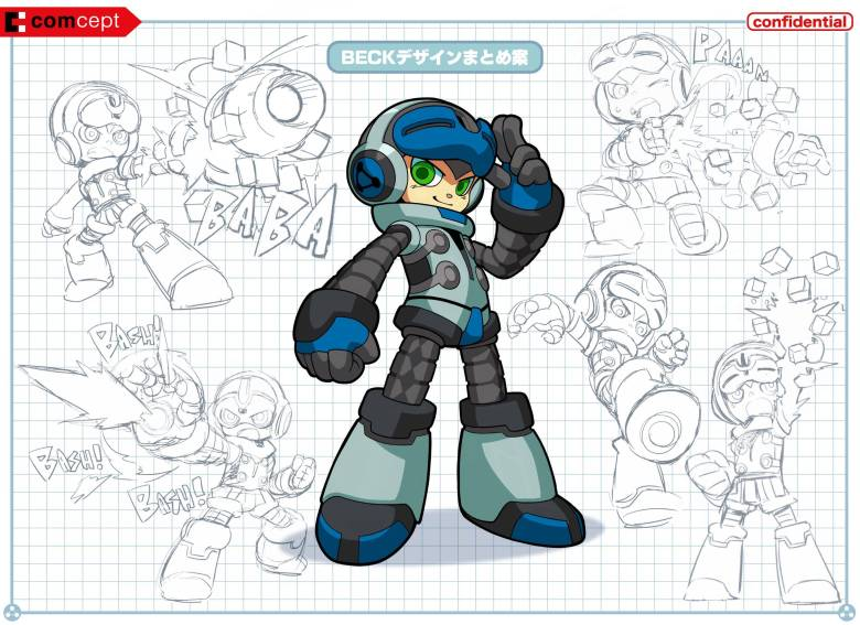 Beck from developer Comcept's Mighty No. 9.