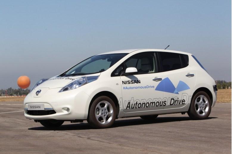 nissan autonomous drive