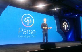 Mark Zuckerberg speaks at the Facebook Parse Developer Day in 2013.