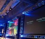 At Boxworks, Box CEO Aaron Levie invites product managers to the stage to make a series of announcements