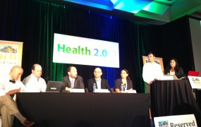 A health policy panel at DC to VC featuring Farzad Mostashari, ONC, and Nate Gross, cofounder of Doximity, among others.