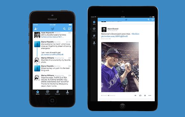 Twitter iOS 7 app