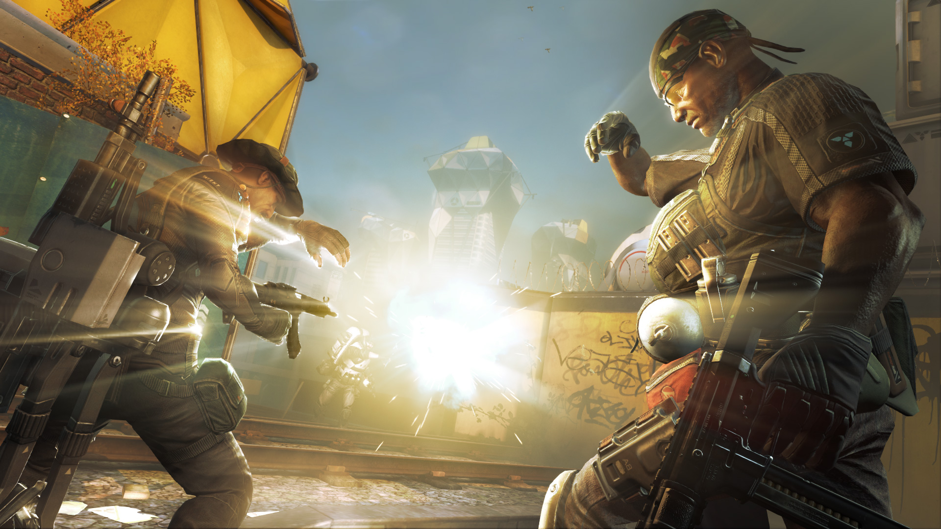 Developer Splash Damage's free-to-play online shooter Extraction.
