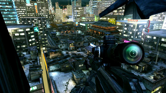 First-person action in the new mobile call of Duty game.