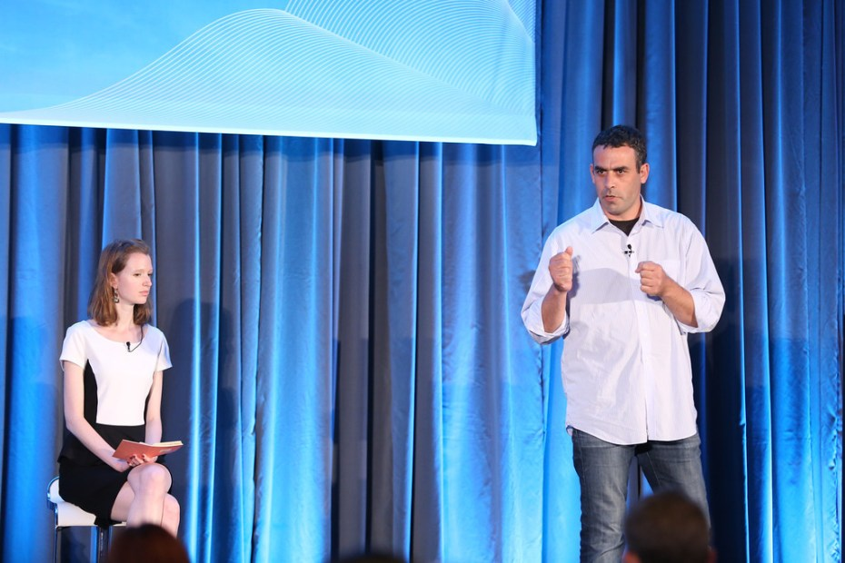 Guy Nirpaz, chief executive of Totango, presents at the Innovation Showdown at VentureBeat's 2013 CloudBeat event.