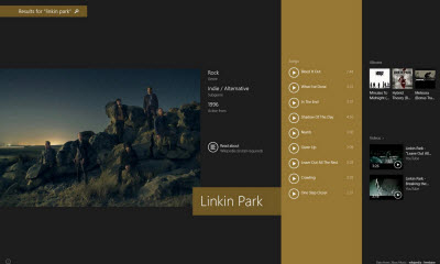 Xbox Music Linkin Park