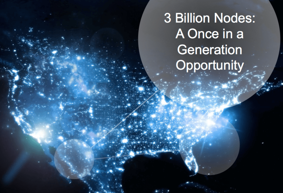 Billions of nodes
