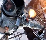 Call of Duth: Ghosts' space scene looks a lot like Gravity.