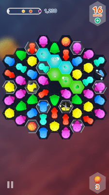 Developer Space Inch's Disco Bees for iOS 7.