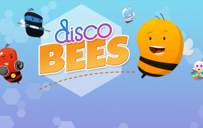 Disco Bees for iOS 7.